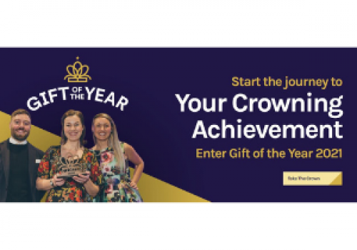 THE LONGEST RUNNING COMPETITON IN THE HOME AND GIFT INDUSTRY IS BACK