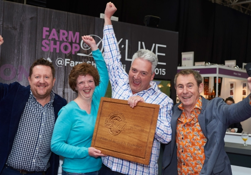 Johns of Instow & Appledore WINS 'RETAILER OF THE YEAR' at the  Farm Shop & Deli Awards 2015